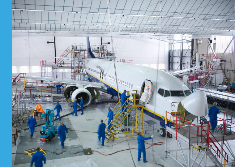 Final assembly line integration and flight line services